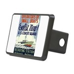 Operators of Small Boats Rectangular Hitch Cover