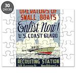Operators of Small Boats Puzzle