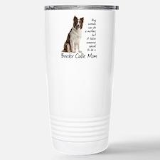 Border Collie Mom Travel Mug