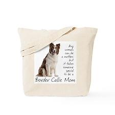 Border Collie Mom Tote Bag