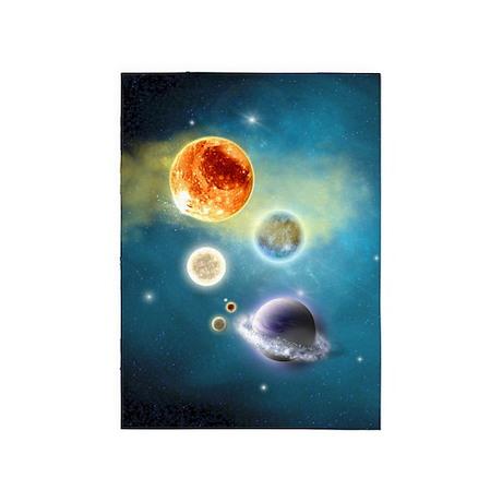 New Solar System 5'x7'Area Rug