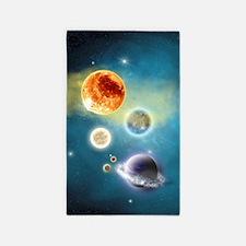 New Solar System 3'x5' Area Rug