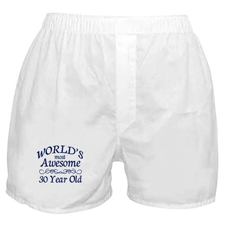 Awesome 30 Year Old Boxer Shorts