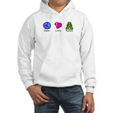 Peace, Love and turtles Hoodie