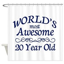 Awesome 20 Year Old Shower Curtain