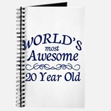 Awesome 20 Year Old Journal