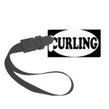 1CURLING.png Luggage Tag
