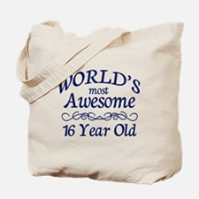 Awesome 16 Year Old Tote Bag