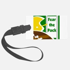 fear the pack sq3.png Luggage Tag