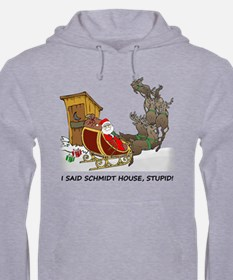 Schmidt House Cartoon Christmas Hoodie