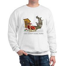 Schmidt House Cartoon Christmas Sweatshirt