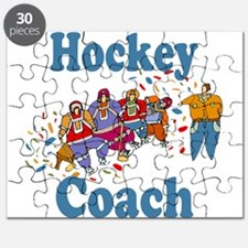 hockey coach blue lettering black t2.png Puzzle
