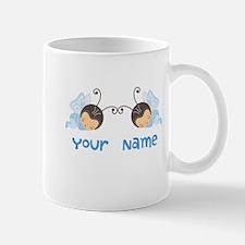 Personalized Twin Boy Butterfies Mug
