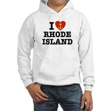 I Love Rhode Island Hoodie