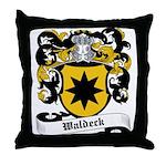 Waldeck Coat of Arms Throw Pillow