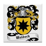 Waldeck Coat of Arms Tile Coaster