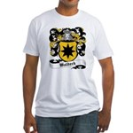 Waldeck Coat of Arms Fitted T-Shirt