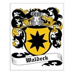 Waldeck Coat of Arms Small Poster