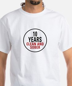 10 Years Clean & Sober Shirt