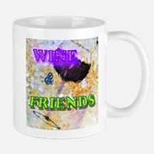 Wine & Friends Mug