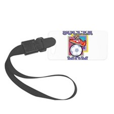 SOCCER MOM PURPLE.png Luggage Tag
