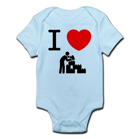 Building Blocks Infant Bodysuit