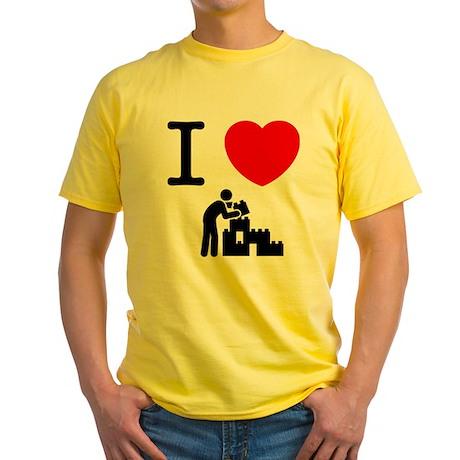 Building Blocks Yellow T-Shirt