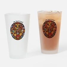 We Survived!2012 Mayan Calendar Drinking Glass