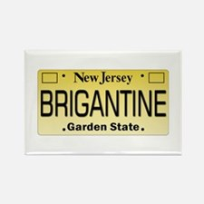 Brigantine NJ Tag Gifts Rectangle Magnet