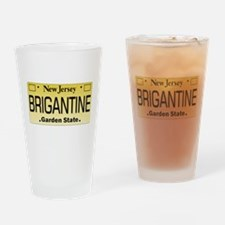 Brigantine NJ Tag Gifts Drinking Glass