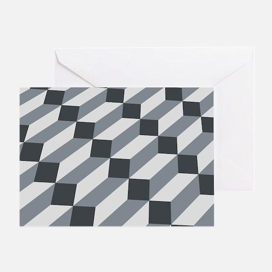 3D Optical illusion Greeting Card