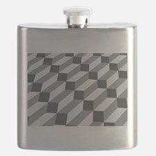 3D Optical illusion Flask