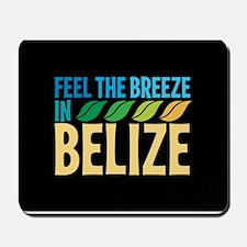Feel the Breeze in Belize Mousepad