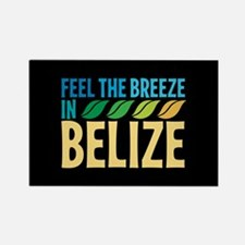 Feel the Breeze in Belize Rectangle Magnet