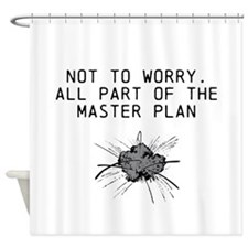 The Master Plan Shower Curtain