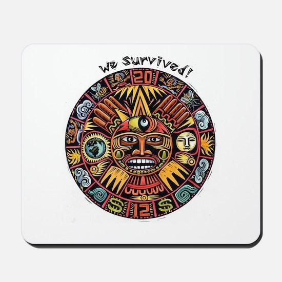 We Survived!2012 Mayan Calendar Mousepad