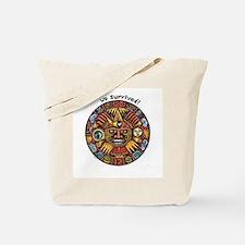 We Survived!2012 Mayan Calendar Tote Bag