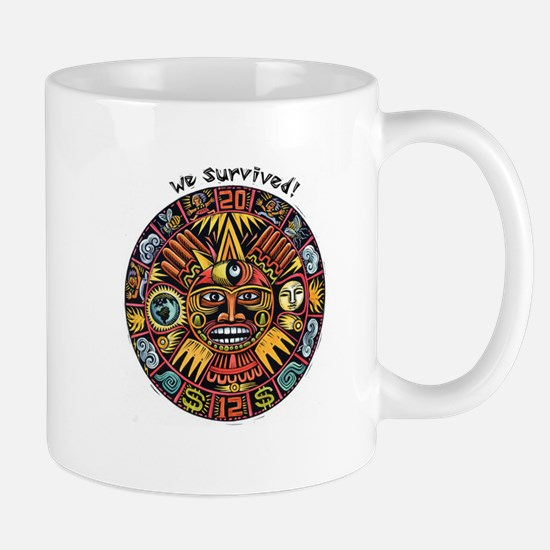 We Survived!2012 Mayan Calendar Mug