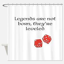 Legends Shower Curtain