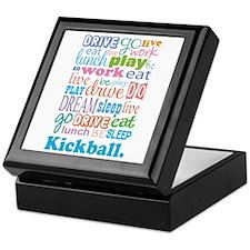 Kickball Keepsake Box