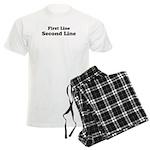 2lineTextPersonalization Men's Light Pajamas