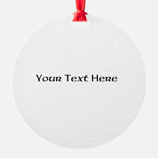 2lineTextPersonalization Ornament