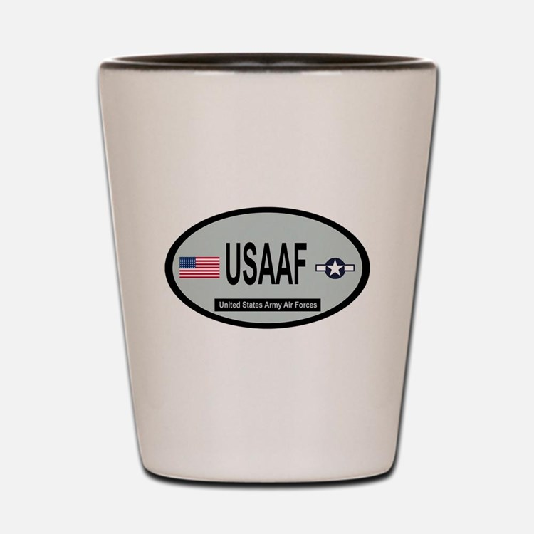 United States Army Air Forces 1943-1947 Shot Glass