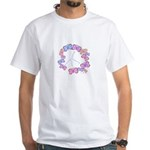 Butterfly Peace White T-Shirt