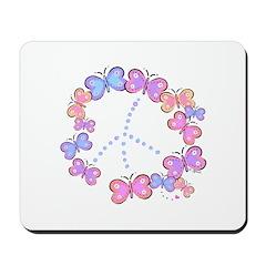 Butterfly Peace Mousepad