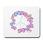 Butterfly Peace Mousepad