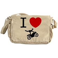 Stunt Riding Messenger Bag