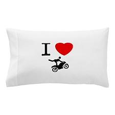 Stunt Riding Pillow Case