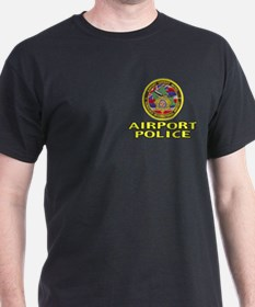 Honolulu Airport Police Black T-Shirt