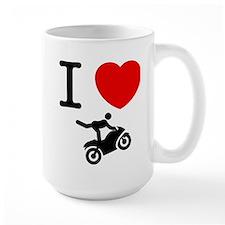 Stunt Riding Mug